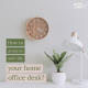 Declutter and Tidy Your Desk